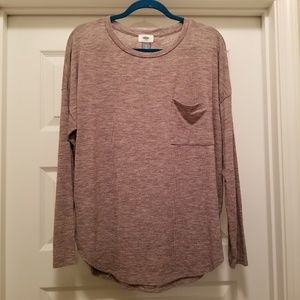 Old Navy Light-Weight Sweater Heather Brown